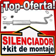 Silenciador Intermedio TOYOTA YARIS VERSO 1.3 86HP 08.1999-11.2002 Escape EFJ