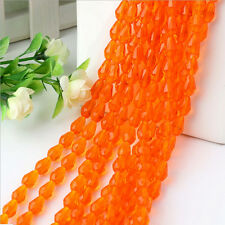 New 4/6/8/10mm Rondelle Faceted Crystal Glass Loose Beads Diy Findings HUCA