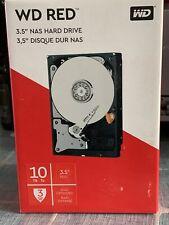 """Western Digital Red NAS 10TB Internal 5400RPM 3.5"""" HDD WD100EFAX"""
