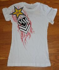 Metal Mulisha Rockstar Energy Drink Womens Top Size Medium BNWT