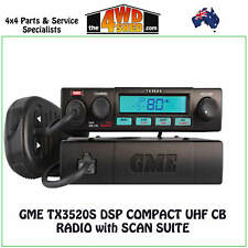 GME TX3520S DSP Compact UHF CB Radio with Scan Suite - TX3520S