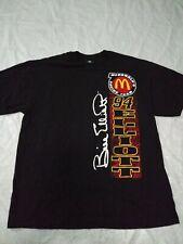 Bill Elliott T Shirt XL Black McDonald's Racing Vintage NASCAR