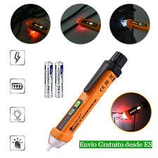 Detector del Voltaje tensión elíctrico sin contacto LED comprobador de 12V-1000V