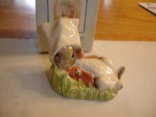 Royal Albert Beatrix Potter Figurine Benjamin se réveille Entièrement neuf dans sa boîte