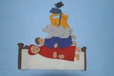 """""""The Napping House"""" Children Story Flannel board/ felt set"""