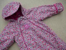 🍀 JOJO MAMAN BEBE Waterproof Fleece Lined SNOWSUIT 12-18m All-in-One IMMACULATE
