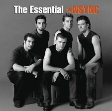 NSYNC The Essential 2CD BRAND NEW Best Of Greatest Hits Justin Timberlake N SYNC