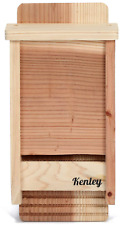 Kenley Bat Box House Shelter Single Chamber Outdoor Bat Houses Kit Cedar Wood
