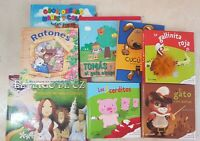 COLECCION DE LIBROS INFANTILES CON POP-UPS Y TEXTURAS (EL MAGO DE OZ Y OTROS)