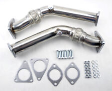 Test Pipes Decat Catless Non Reso Flex Exhaust FITS Nissan 370z Infiniti G37