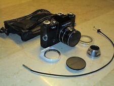 Voigtländer VSL1 Analogkamera mit Tasche/Zubehör, Color Ultron 1,8/50, rar
