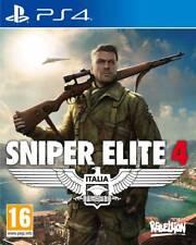 Sniper Elite 4 Italia PS4  VF NEUF SOUS BLISTER