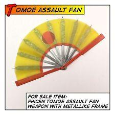 PHICEN/TBLeague Hot Tomoe Samurai Assault Fan Weapon fit 1/6 12 in scale Toys