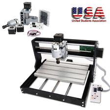 Hot Cnc Router Mini Laser Engraver Diy Wood Milling Drill Carving Machine Kit
