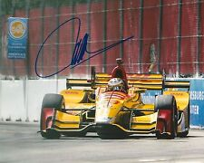 Ryan Hunter-Reay signed 8x10 photo Irl Indy with Coa A