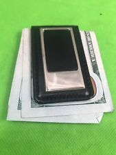 Sheridan Leather Magnetic Money Clip New