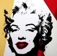 Marilyn 11.37 (Sunday B. Morning), Silkscreen, Andy Warhol - with COA