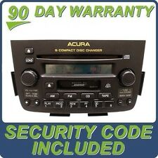 ACURA MDX OEM Radio BOSE Tape 6 Disc Changer CD Player 3TF0 3TF1 3TF2 3TF4