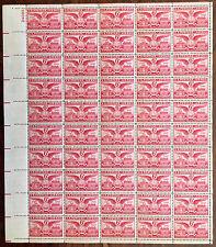 Scott C40, 6 cent, Alexandria, Virginia, Mint Sheet