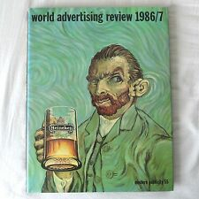 WORLD ADVERTISING REVIEW 1986/87 - MODERN PUBLICITY VINTAGE GRAPHIC DESIGN BOOK