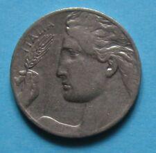 20 Centesimi 1922 Italia librata Nichelio - VITTORIO EMANUELE III - ROMA C