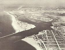 """NEWPORT BEACH Aerial View 1930's Photo Print 967 11"""" x 14"""""""