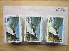 #2042 - 20¢ Tennes x 100 Used US Stamps Lot T.V.A. Issue see our other lots