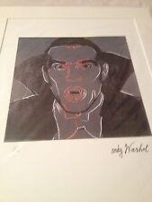 Andy Warhol Litografía Drácula 2121/5000