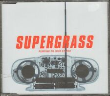 SUPERGRASS Pumping on your Stereo  NEW SEALD CD SINGLE 4 track CDSingle SICK