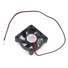 2pcs 50mm x 10mm DC 12V 2Pin PC Chipset VGA Video Heatsink Cooler Cooling Fan