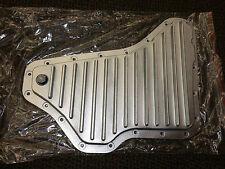 LOW PROFILE Aluminum TRANSMISSION OIL PAN GM 4T65E w/ Magnetic Drain Plug