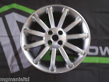 MGF MG F Genuine 11 Spoke Alloy Wheel Brand New Shadow Chrome mgmanialtd.com