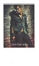 PUBLICITE ADVERTISING  2012  CALVIN KLEIN Jeans collection hiver pour homme