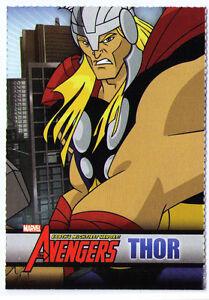 THOR sample promo trading card - The Avengers - Mighty Marvel Disney