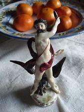 Rara porcelana figura, ganimedes con aguila – máximo-Passau-Samson