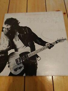 Original Bruce Springsteen, Born to Run Vinyl LP Album JC 33795