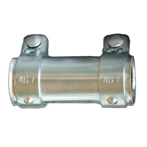 Auspuffschelle 40-46 mm Fiat Bravo Punto Grande Rohrverbinder Doppelschelle