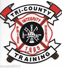 """Tri-County Training  """"Pride - Honor"""", Maine  (5"""" x 4.75"""" size) fire patch"""