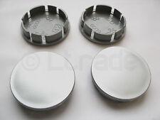 4x Nabenkappen Felgendeckel Nabendeckel Ø 60mm-56mm Silber Felgenkappen NEU