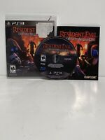 Resident Evil Operation Raccoon City Sony PlayStation 3 PS3 Complete with Manual