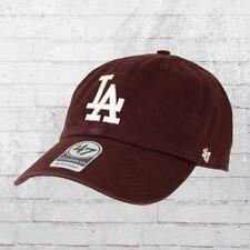 47 Brands Clean Up Cap Mlb La Dodgers Rosso Vinaccia Cappuccio Berretto  cappa Basecap capi ha 4142b9d0490f