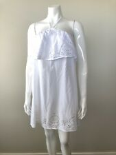 ASOS White Summer Beach Cotton Dress Size 8