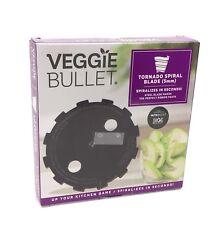 Veggie Bullet Tornado Spiral Blade 5mm Makers of NutriBullet & MagicBullet