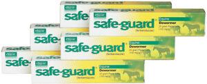 Safe-Guard Equine Paste 10% Fenbendazole Horse Wormer 25g 6 Pack