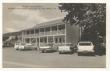 Chalet Apartments, in PEN ARGYL PA Vintage Pennsylvania Postcard