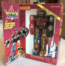 Vtg 1985 Voltron Miniature Lion Force NRFB Matchbox