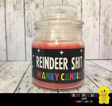 WANKY CANDLES Rude Funny Novelty Christmas Gift - REINDEER SHT