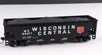 Bachmann Wisconsin Central w/Load 4 Bay Hopper WC 88811 HO Scale