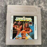 WWF Superstars Nintendo Game Boy Color Advance Game Cart Only Genuine Wrestling
