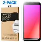 2-Pack Tempered Glass Screen Protector For Google Pixel 3a / 3a XL / 3 / 3 XL